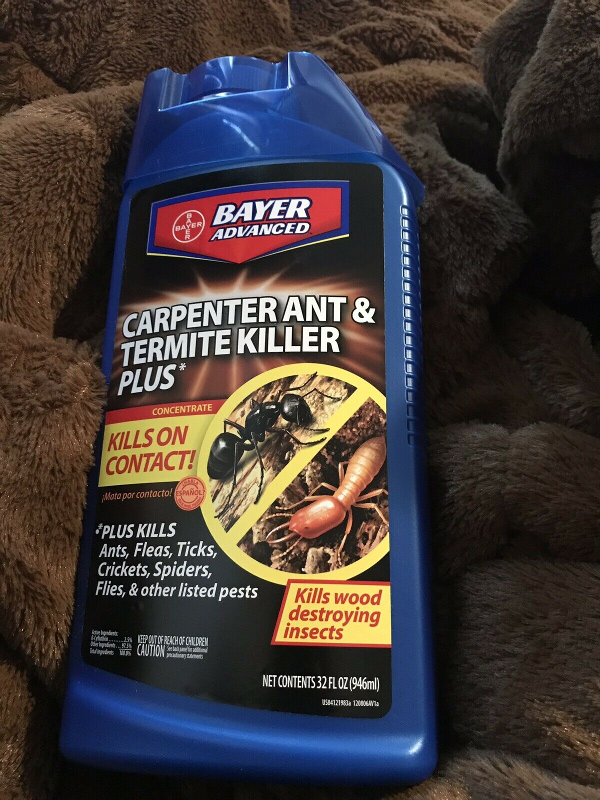 Bayer Advanced 700310 Carpenter Ant And Termite Killer Plus Concentrate For Sale Online Ebay