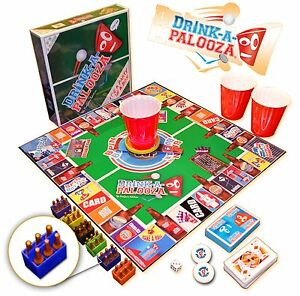DRINK-A-PALOOZA-Board-Game-A-blend-of-Old-School-New-School-Drinking-Games