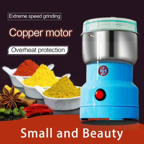Household Electric Grain Grinder Small Grinding Machine Coffee Herb Dry Grinder