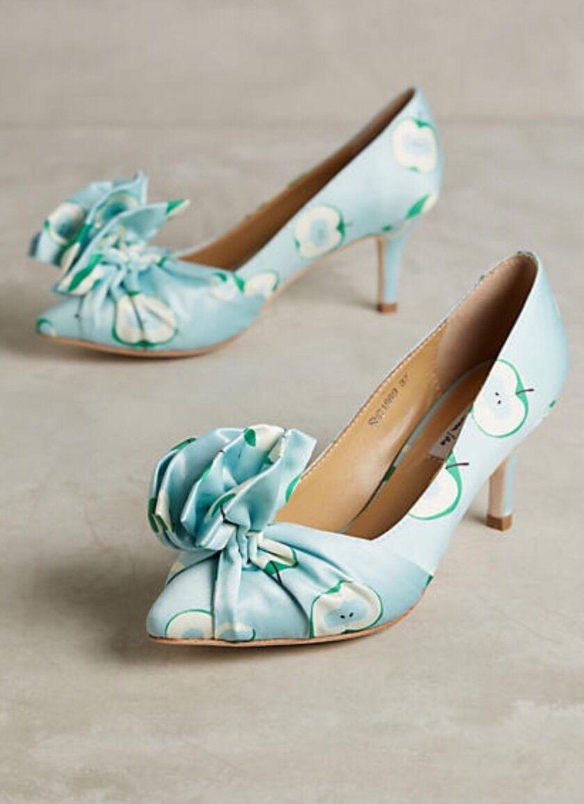 NEW Anthropologie Papillon Apple Heels Heels Heels Size 38 6e3320