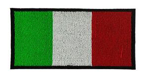 ITALIA-BANDIERA-TOPPA-PATCH-RICAMATA-CM-6X4cm-TOPPE-PATCH-STEMMA-BORDADO