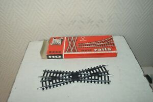 Jouef oh 4085 turnouts left manual 385 mm 2 rails /& new in blister