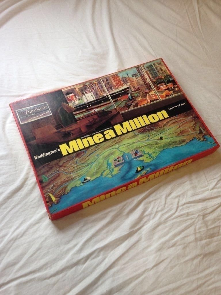 Mine a million - Vintage boardgame