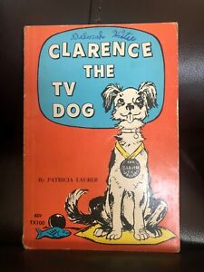 Clarence-the-TV-Dog-by-Patricia-Lauber-paperback-1971-printing