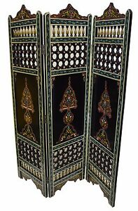 Moroccan Room Divider Partition Wood Screen Panel Room Separator X