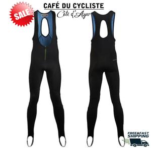 Cafe Du Cycliste para hombres pantalones para ciclismo invierno Babero Medias Martine Negro Nuevo