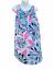 縮圖 1 - Vintage 60s 70s Retro MOD colorful Nightgown Dressing Gown Leonora Medium