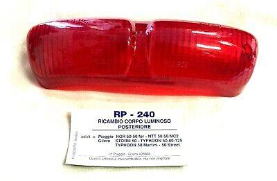 Glas Rücklicht Blinker Bosatta für Piaggio Vespa 125 Super Gl RP207 Sprint