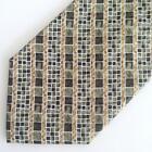 Metropolitan Museum of Art Mens Tie - Green Tiffany Mosaic Pattern