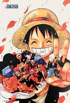 Japanese Anime ONE PIECE Poster #B3 Luffy Zoro Nami Usopp Sanji Chopper