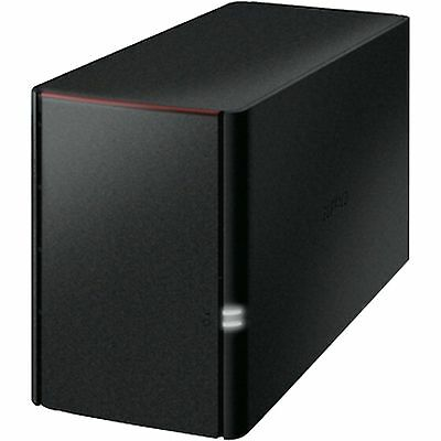 Buffalo Technology LinkStation 220 8 TB, NAS, schwarz