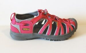 15cce74a2203 Keen Whisper Sandals 6 Honeysuckle Pink Gray New Shoes Youth Big Kid ...