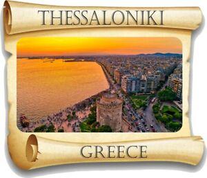 Oia Santorini Greece Sticker for Travel Car Laptop Fridge Door Book