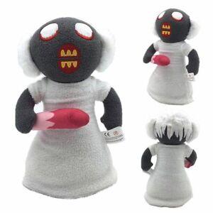 10-034-Horror-Game-Granny-Plush-Figure-Toy-Soft-Stuffed-Doll-Kids-Toy-Xmas-Gift