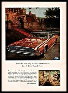 1966-FORD-THUNDERBIRD-4-door-Tiltaway-Steering-w-Interior-Photo-Classic-Car-AD