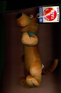 Scooby-Doo-Squeeze-Me-I-talk-plush-beanbag-Warner-Store-new-with-tags-LOOK-FUN