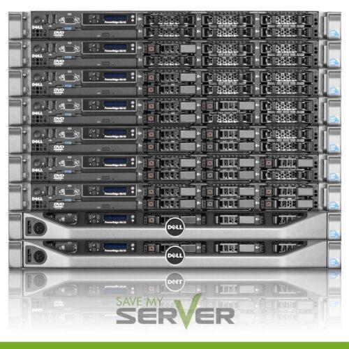 Dell PowerEdge R610 Server 2x2.53GHz Quad Core 32GB Ram 2x 300GB SAS