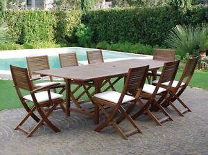 Tavolo tavoli esterno giardino legno esterni sedie sedia esterni
