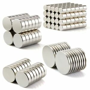 100Pc-Super-Strong-Round-Disc-Magnets-Rare-Earth-Neodymium-Cylinder-Magnet-Kit