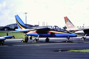 3-733-Dassault-Breguet-Dornier-Alphajet-Belgium-Air-Force-Kodachrome-SLIDE