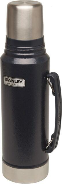 Stanley Classic Vakuum Flasche 1L navy blue 18/8 Edelstahl Thermoskanne Neuware!