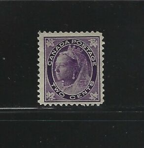CANADA-68-2c-QUEEN-VICTORIA-MAPLE-LEAF-ISSUE-MINT-STAMP-MH