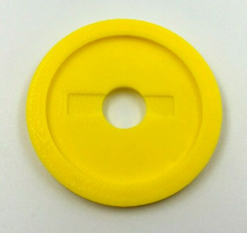 Joystick Dust Cover Arcade1up Custom Parts Upgrade Super Mario Yellow Coin