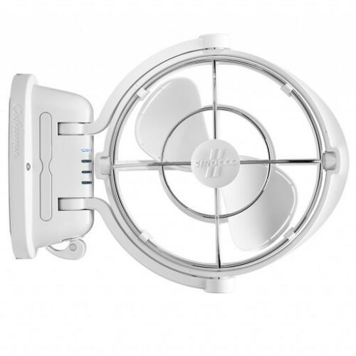 White Caframo Sirocco II Fan