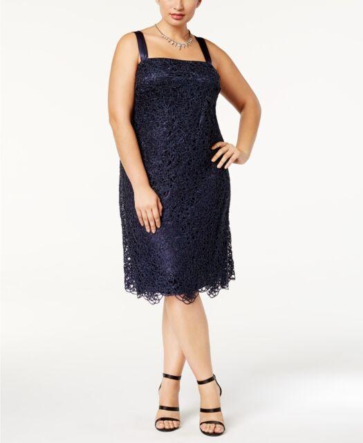R & M Richards Plus Size Lace Dress $129 Size 22W # 7B 131 New