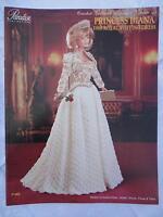 Paradise Crochet 11 1/2 Doll Pattern Princess Diana '88 Royal Visiting Dress
