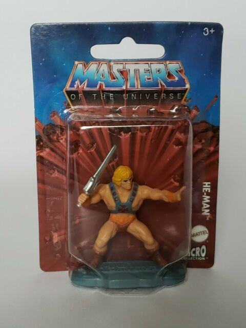 """Masters of the Universe Mattel Micro 2"""" Action Figure He-Man"""
