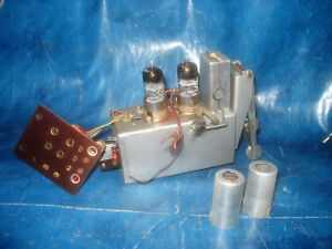 SABA-Roehrenradio-Schwarzwald-6-3D-Automatic-UKW-Tuner