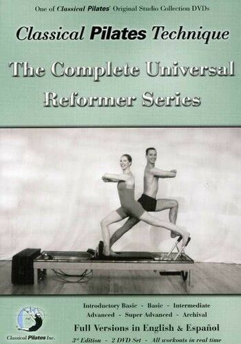 Classical Pilates Technique: The Complete Universal Ref (2005, REGION 1 DVD New)