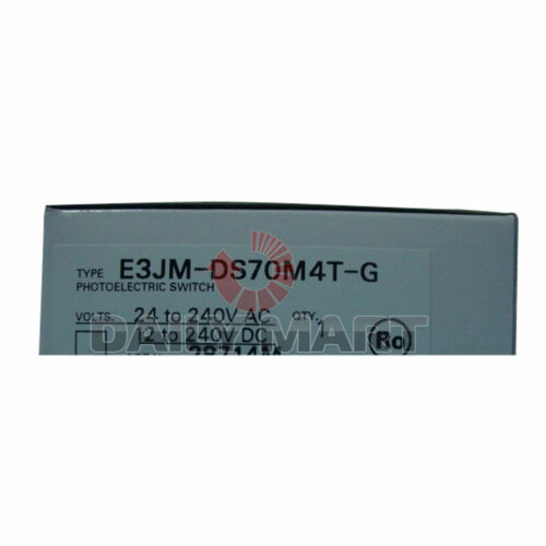 Omron Automation E3JM-DS70M4T-G 700 mm diffuse Réfléchissant photoélectrique commutateur