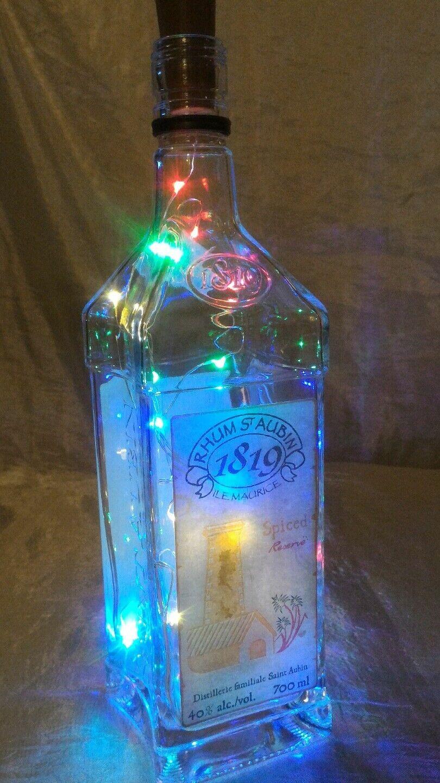 Flasche Hell Dekorativ Rum St.Aubin