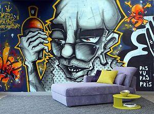 Image Is Loading Graffiti Street Art Wall Mural Photo Wallpaper