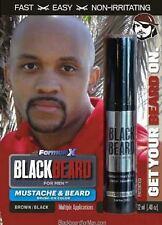Para hombre de color de cabello Mascara Barba Bigote Cejas Patillas Brown/black