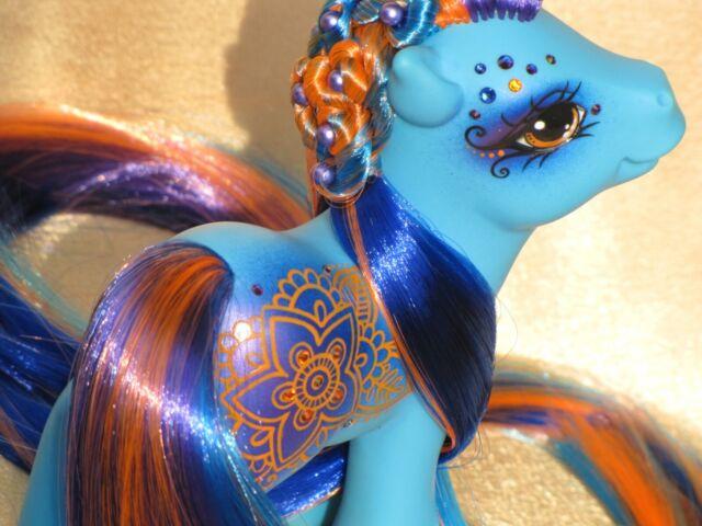 My Little Pony Custom G1 Sea Pony ** CREATE YOUR OWN ** Conch Swarovski Henna