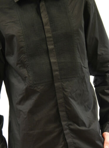 Bcf511 Sleeve L Singh Rrp Men's Long Pratap £225 Chest Black Rajesh Detailed RgcPWqg