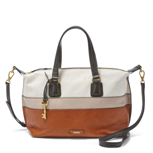 Fossil Women S Julia Satchel Leather Bag Shb1389016