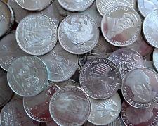 Investorenpaket Silberanlage 25 Stück 5 DM Gedenkmünzen Deutsche Mark Silber
