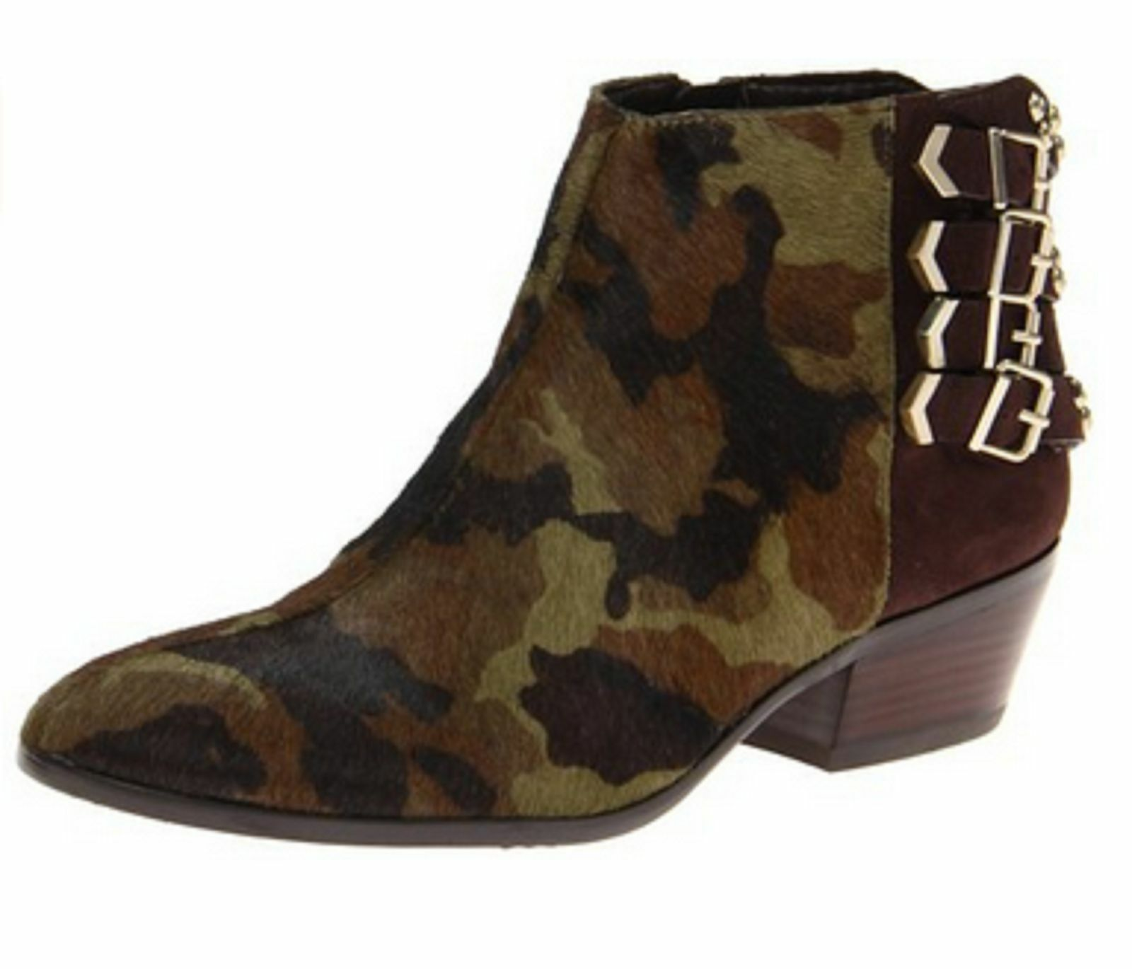 Sam Edelman Women's Penpink, Olive ESPR Boot Size 6M