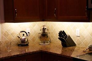 Image Is Loading Kitchen Under Cabinet Lighting Kit Led Fixture Rgb
