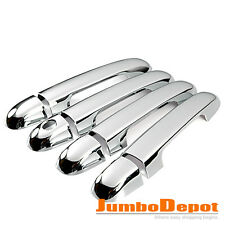 Triple Chrome Door Handle Cover Trims Kit For Hyundai SONATA NF 2007 2008 2009