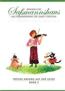 Violine-Noten-Frueher-Anfang-auf-der-Geige-Band-2-SCHULE-Sassmannshaus