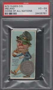 1889-N72-Duke-Cigarettes-Coins-of-All-Nations-Ireland-Graded-PSA-4