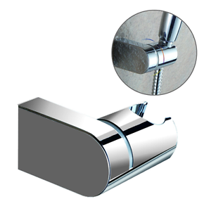 hand held shower head holder wall mount adjustable bracket bathroom accessories ebay. Black Bedroom Furniture Sets. Home Design Ideas