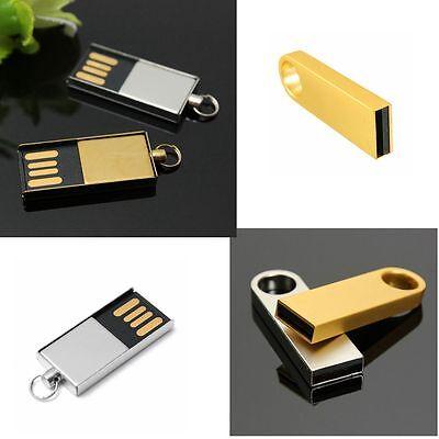 Metal Ring 32GB/64GB USB 2.0 Flash Memory Stick Storage Thumb Pen Drive U Disk