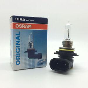 Hid Lamp For Car >> Osram HIR2 9012 Halogen Headlight Headlamp Bulb Dipped & Main Beam 12v 55w PX22d | eBay