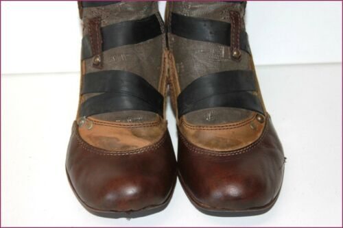 Dkode 40 Be And Fabric All Boots T Old Leather Look 1a4a6x